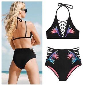 Victoria's Secret VS PINK Black Bikini Bottoms